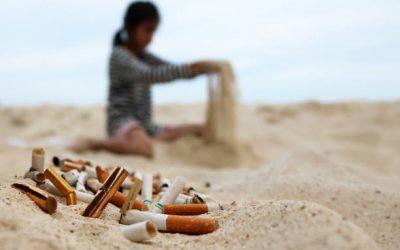 Отпушоците од цигари се исто штетни за океаните колку и пластичните кеси