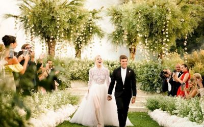 10-те најгламурозни венчавки што ја обележаа 2018-та година
