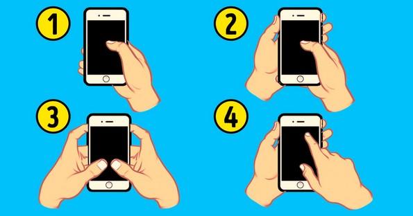 Тест-Как вы держите смартфон?