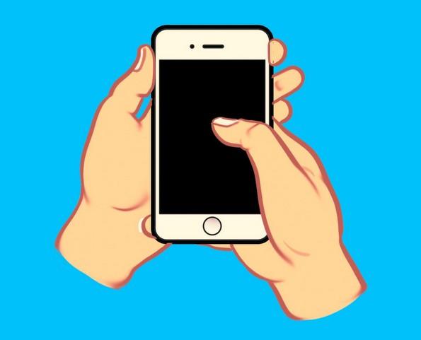 Што кажува за вас начинот на којшто го држите вашиот смартфон?