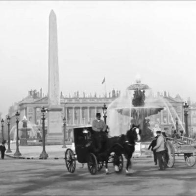 Неверојатна видео снимка од секојдневниот живот во Париз во 1890-тите