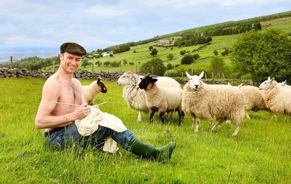 Фармерите од Ирска го објавија нивниот календар за 2019-та година
