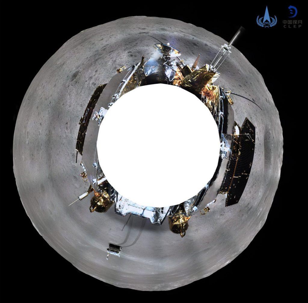 Погледнете ја темната страна на месечината од неверојатната панорама на кинескиот приземјувач