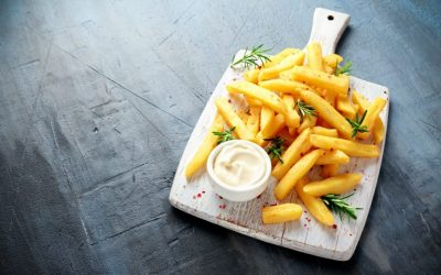Ароматичен помфрит подготвен на здрав начин