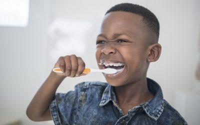 Дали вашето дете користи премногу паста за заби?
