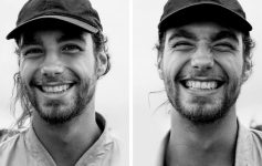 Жена фотографирала луѓе пред и откако ги бакнала, а нивните лица кажуваат сè