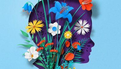 Илустрации и гифови од хартија што ги визуелизираат умот и телото