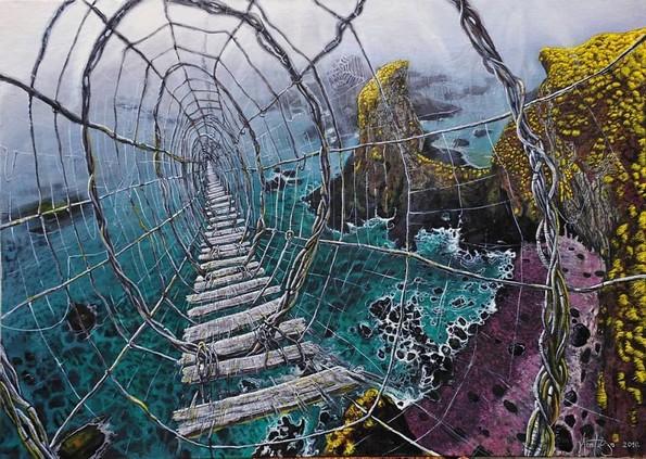 Уметница од Србија е експерт за слики со магичен реализам
