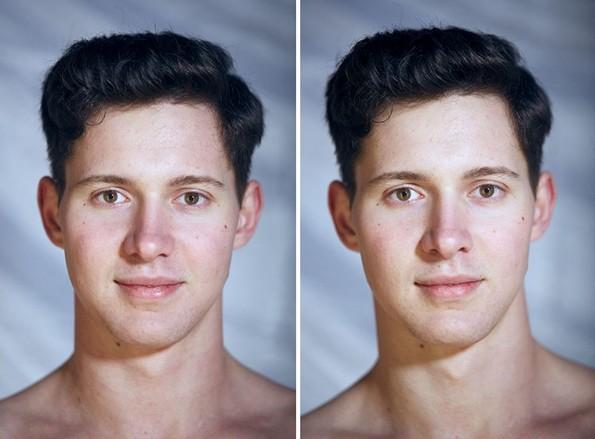 Необичен проект: Можете ли да препознаете на која фотографија моделите се голи?