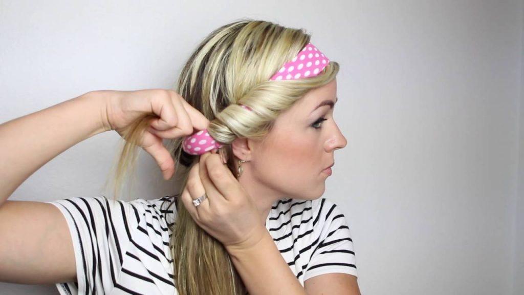 Направете сами: Совршени локни со лента за коса