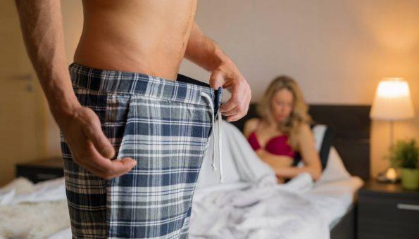 Необична причина за машките проблеми во кревет