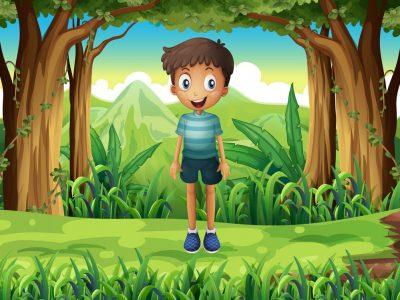 Поучна приказна: Момчето и светилката