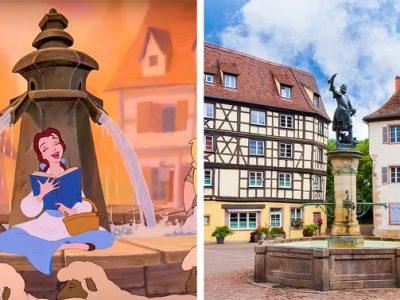 11 магични места што биле инспирација за најпознатите анимирани филмови