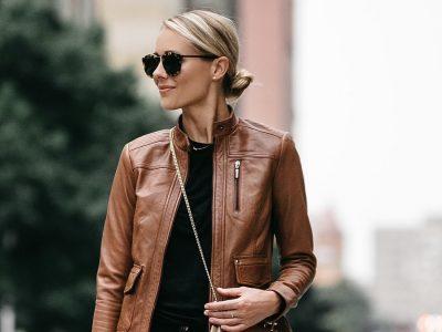 Кожна јакна: Моден фаворит за пролетните денови
