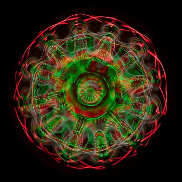 Научник фотографира звучни бранови, а резултатот изгледа нереално