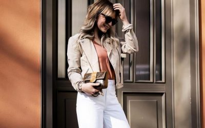 5 одлични модни комбинации со бели панталони