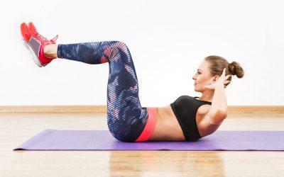 15-минутна рутина за вежбање за рамен стомак