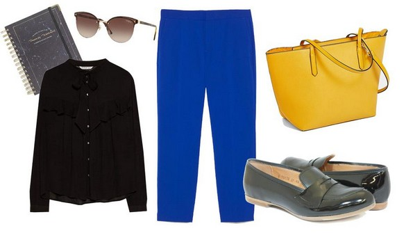 3 пролетни модни комбинации за на работа