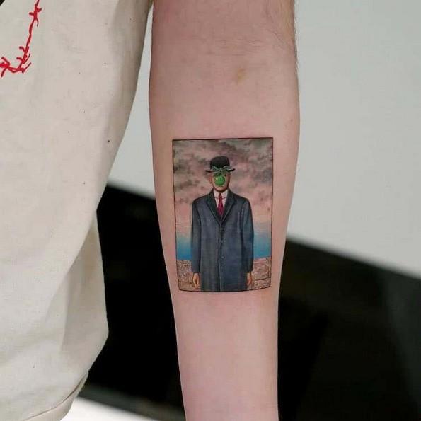 Тату артистка ги рекреира познатите уметнички ремек-дела во форма на тетоважи
