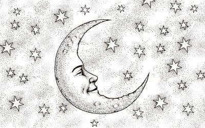 Приказна од 10 секунди: Што гледа љубовникот во ликот на Месечината?