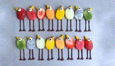 Овошни ликови кои изгледаат толку слатко што би ви било жал да ги јадете