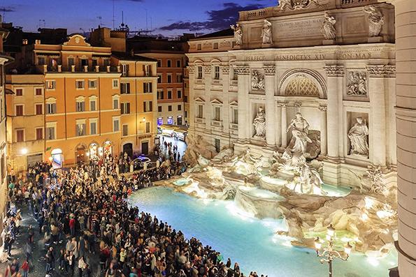 Романтични места кои треба да ги посетите во Рим