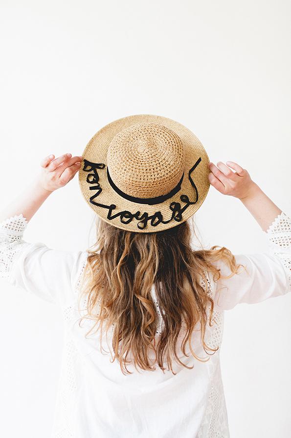 Направете сами: Персонализиран шешир за на плажа