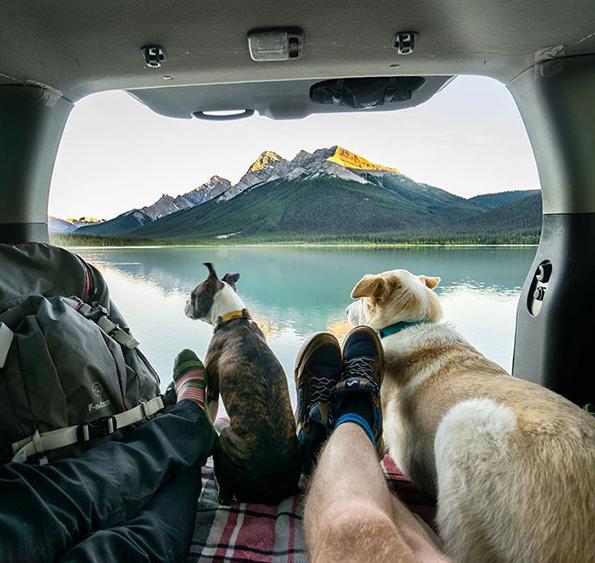 Инспиративната убавина на патувањето со комбе