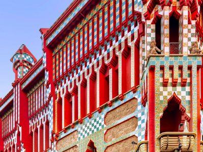Прекрасната архитектура на куќата Висенс која ја направил Антони Гауди