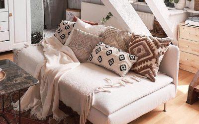 Ќе ве воодушеви: Прекрасно декориран стан во есенски стил од само 45 метри квадратни