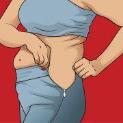 Намалете ги најопасните масни наслаги во телото!