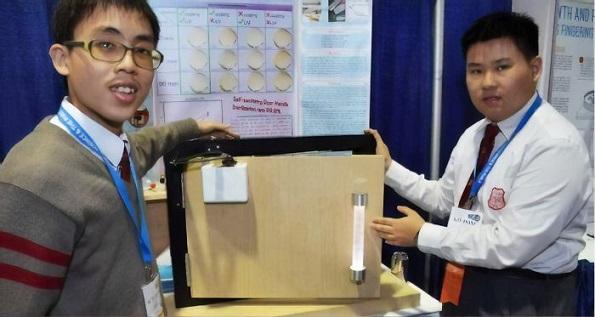 Тинејџери измислиле квака која уништува бактерии