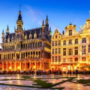 Белгиски туристички пралини: Брисел, Бриж и Гент