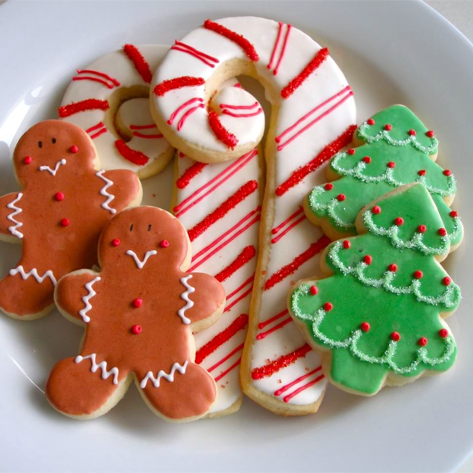 Меки божиќни колачиња