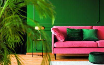 Розова и зелена: Сè што ви треба за модерен дом