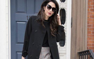 Три капути што ги носи Амал Клуни кои ја одбележаа сезоната есен 2019