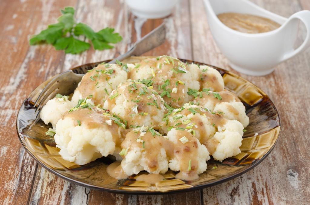 """Вегански рецепт: здрав карфиол во облик на """"Mac and Cheese"""""""
