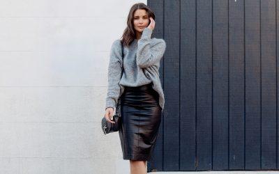 Модна инспирација: 5 предлози како да го комбинирате коженото здолниште