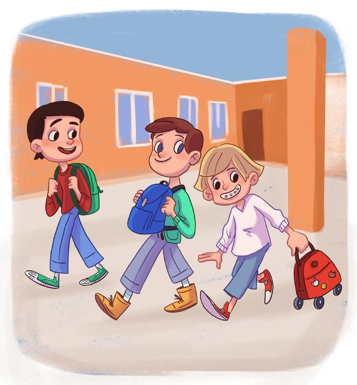 Илустрации што ќе ве потсетат на училишните денови и ќе ве исполнат со носталгија
