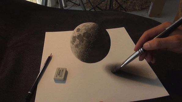 Овој германски уметник создава реалистични уметнички дела што 'отскокнуваат' од хартијата
