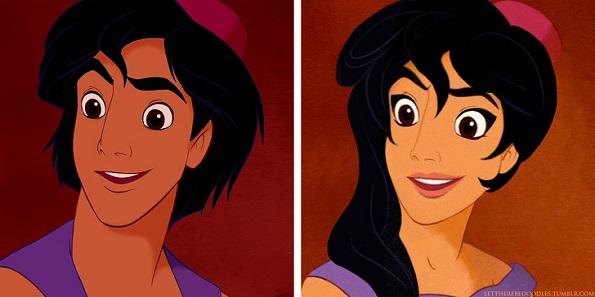 Како би изгледале вашите омилени женски ликови од Дизни, ако беа момчиња?