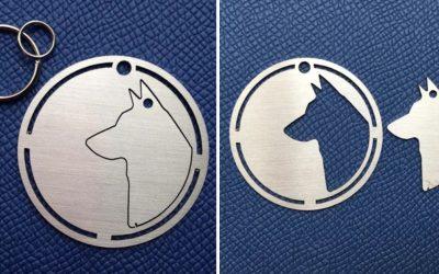 Оваа компанија создава ознаки за миленичиња што можете да ги носите како ѓердан заедно со своето милениче