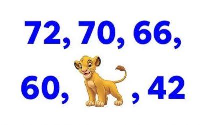 Оваа загатка ќе ја решат само најпаметните: Кој број треба да стои наместо Симба?