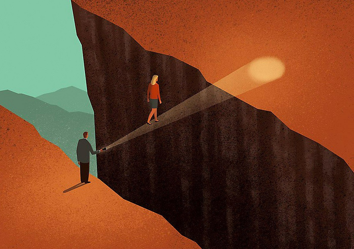 Овој уметник преку провокативни дигитални илустрации ги покажува недостатоците на нашето современо општество