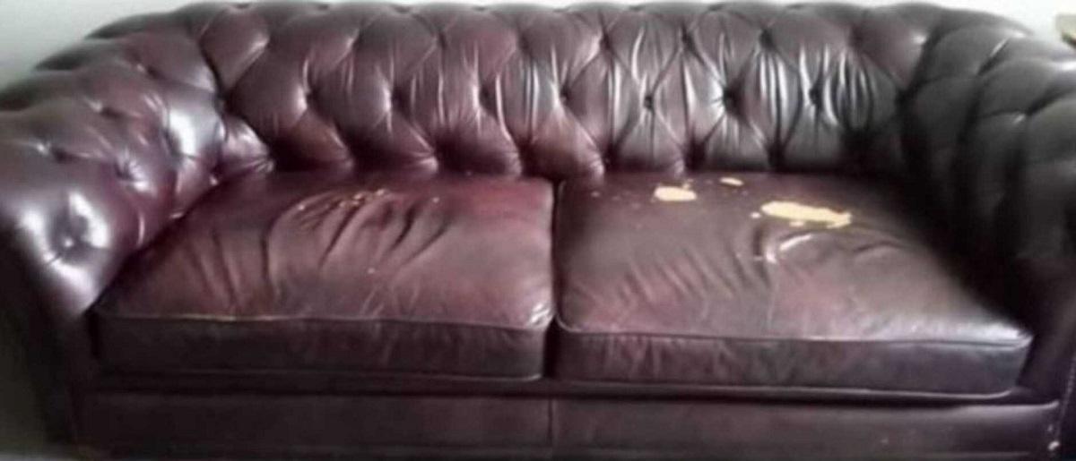 Старата кожна софа ја претворила во нова - евтино и лесно