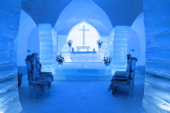 Снежни хотели во Скандинавија за поразличен зимски одмор
