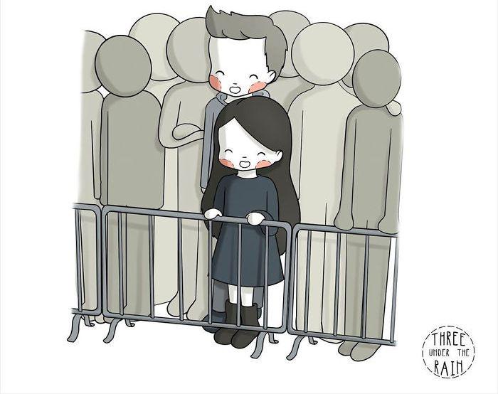 15 илустрации што ги покажуваат предностите на ниските луѓе