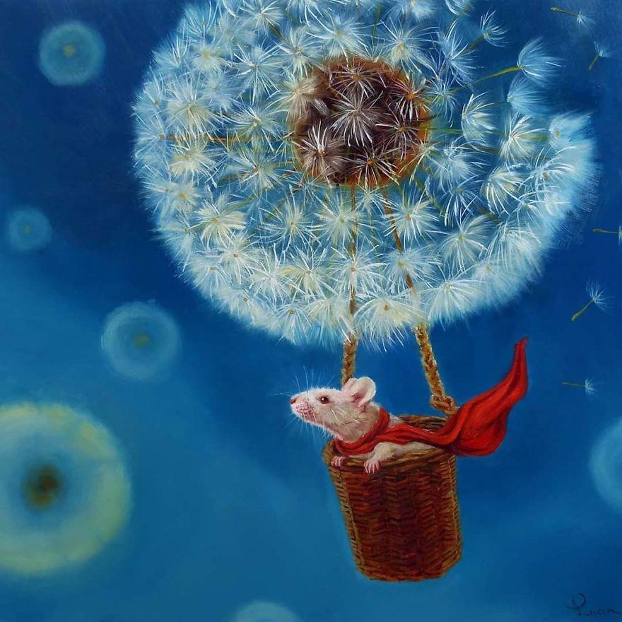 30 интересни илустрации што го прикажуваат секојдневниот живот на глувците