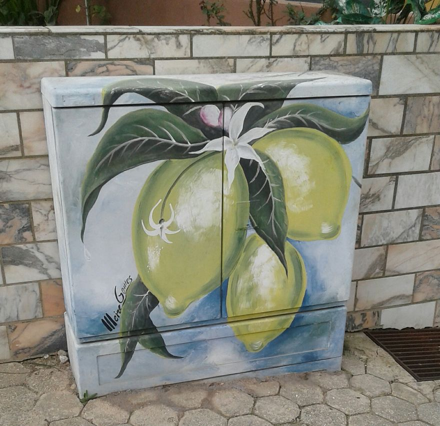 Уличната уметност во Ферагудо, Алгарве, Португалија