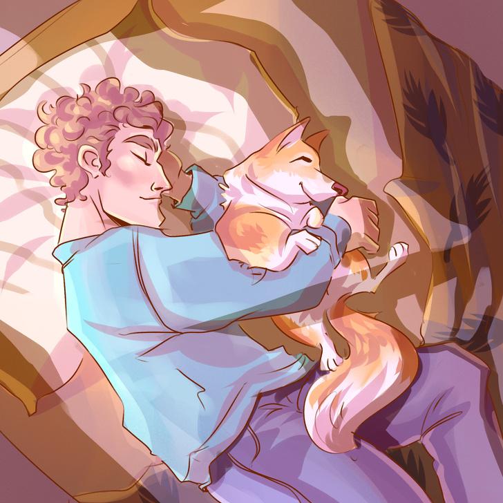 Што открива положбата на спиење на вашето милениче за неговата ментална состојба?
